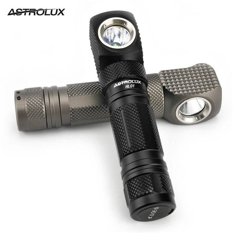 Astrolux HL01 XPL/SST20 1200lm 4000K/5000K/6500K Anduril UI Type-C Rechargeable 2in1 Magnetic LED Headlamp L-shape Flashlight