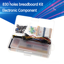 Starter-Kit Capacitor Potentiometer-Box Breadboard-Cable Electronics-Component Resistor