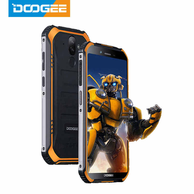 IP68 DOOGEE S40 Lite Quad Core 2GB 16GB Android 9.0 Telefono Cellulare Robusto Mobile Del Telefono da 5.5 pollici del Display 4650mAh 8.0MP di Impronte Digitali