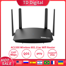 Wifi Repeater IPTV Roteador-Support QOS TOTOLINK Dual-Band Wireless Router 5G A720R 1