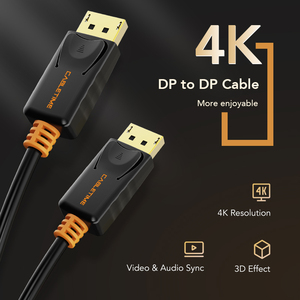Image 2 - Cáp DisplayPort To DisplayPort 144Hz Màn Hình Cổng Cáp 1.2 4K 60Hz DP Vedio DisplayPort To DisplayPort Cáp HDTV máy Chiếu Máy Tính C071