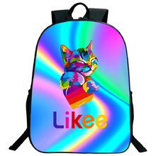 Laptop Backpack School-Bag Video Rainbow LIKEE Girls Boys Fashion Children Unicorn Top-Quality