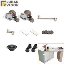 Ukryte akcesoria składane na biurko składany stół do jadalni szafka na biurko zawiasy na biurko kompletne zestawy tanie tanio CN (pochodzenie) Mechanizm krzesło roat