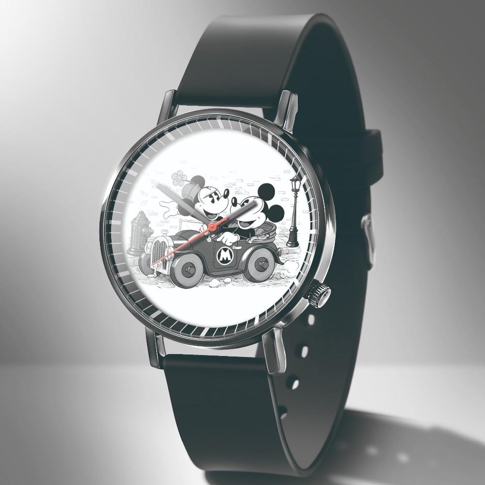 Zegarek damski Hot New kids Sport часы Reloj mujer cartoon mickey quartz часы Fashion Leather dress women часы +% D1% 87% D0% B0% D1% 81% D1% 8B +% D0% B6% D0% B5% D0% BD% D1% 81% D0% BA% D0% B8% D0% B5
