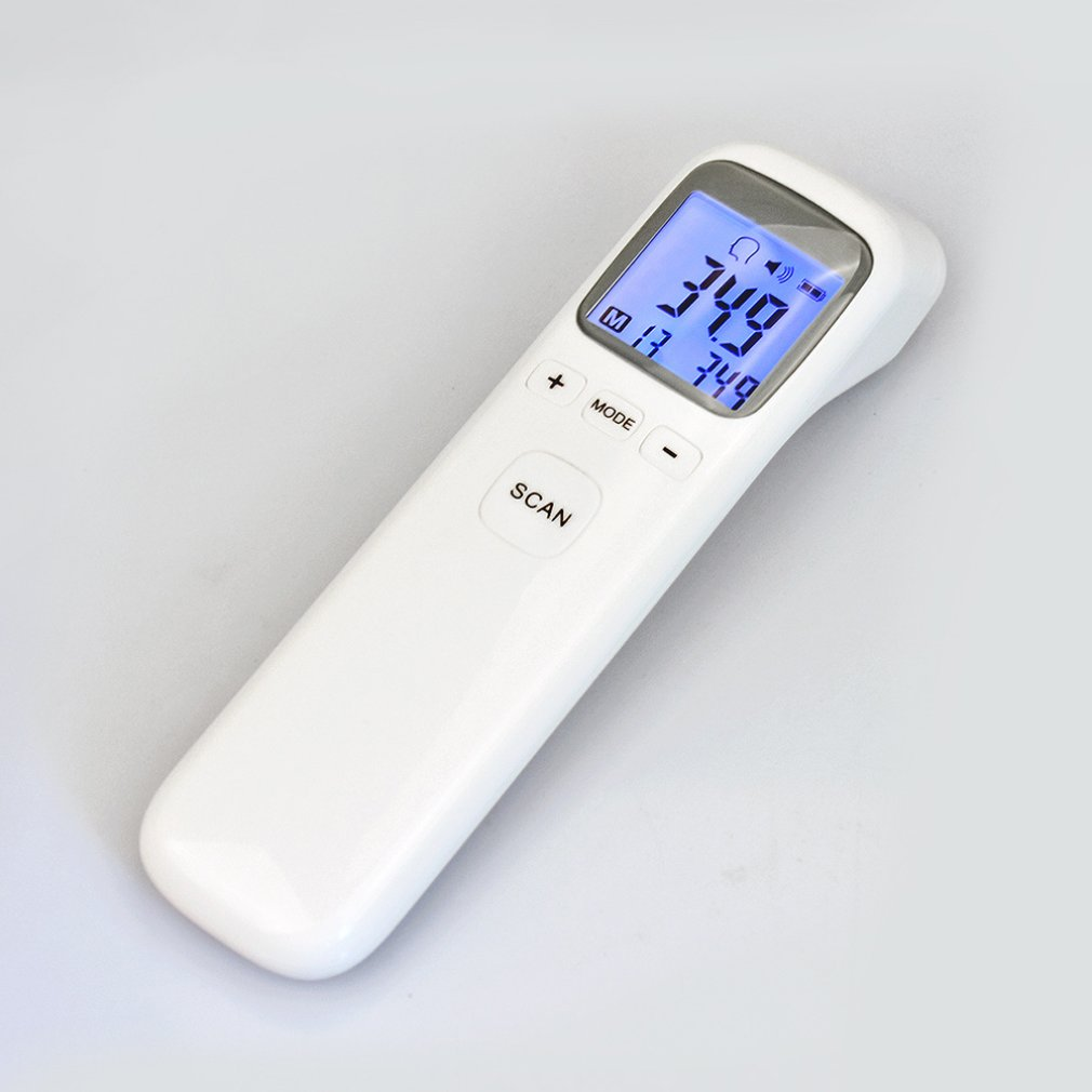 HOT Tool With Alarm Clock thermometer infrared digital Non-contact Thermometer Infrared Digital LCD Body Temperature Measurement