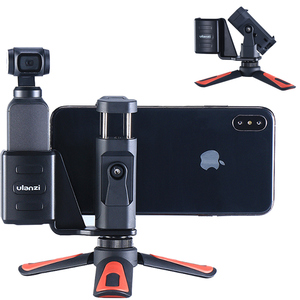 Image 1 - Mini trípode portátil Ulanzi para DJI Osmo, mango de cámara de bolsillo, Clip de montaje para teléfono, soporte de escritorio, accesorios para trípode