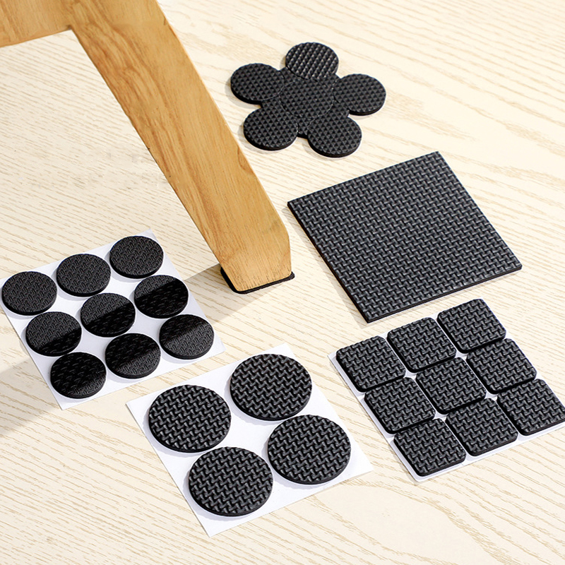 24 Color For Choice Chair Leg Pad Table Legs Rubber Feet Furniture Feet Floor Protection Pad Round Bottom Non-slip Floor Mat