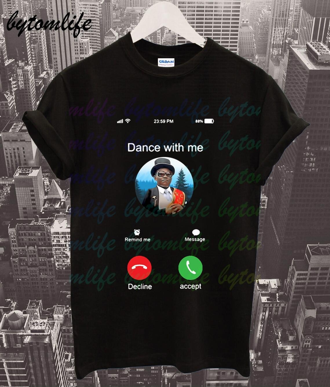 Coffin Dance T Shirt Dancing Pallbearers T Shirt Men's Summer Cotton Short Sleeves Popular Normal Tee Shirts Tops Tee Unisex