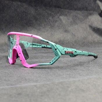 Photochromic ciclismo óculos de sol homem & mulher esporte ao ar livre óculos de bicicleta óculos de sol óculos de sol gafas ciclismo 1 lente 9