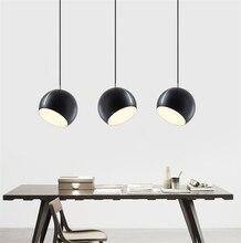 цена Nordic Creative Pendant Lamp Modern LED Pendant Lights Parlor Study Dining Room Kitchen Hanging Lamps Light Fixtures Home Decor в интернет-магазинах