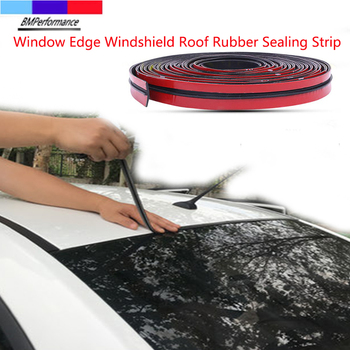 Car Windshield Roof Gap Edge Rubber Sealing Strip For Bmw E36 E46 E90 E91 E92 E93 E81 E82 E87 E88 E34 E39 E60 E61 E84 E83 Z4 image