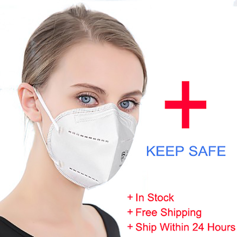 50Pcs Kn95 Face Mask As Kf94 N95 Ffp3 Mask Non Woven Disposable Earloops Masks