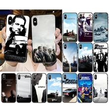Telefoon Case Fast & Furious Smart Cover Black Soft Shell Telefoon Case voor iPhone 11 pro XS MAX 8 7 6 6S Plus X 5 5S SE XR case(China)