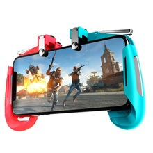 Gaming Gadget Alloy Trigger Does Not Block the Screen Does Not Block Button Mobile Phone Universal Contrast Color