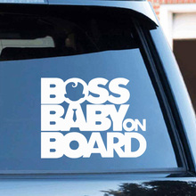 Boss детские наклейки на Автомобиль Забавная наклейка на авто всепогодный Авто мультфильм автомобиль-Стайлинг авто аксессуары