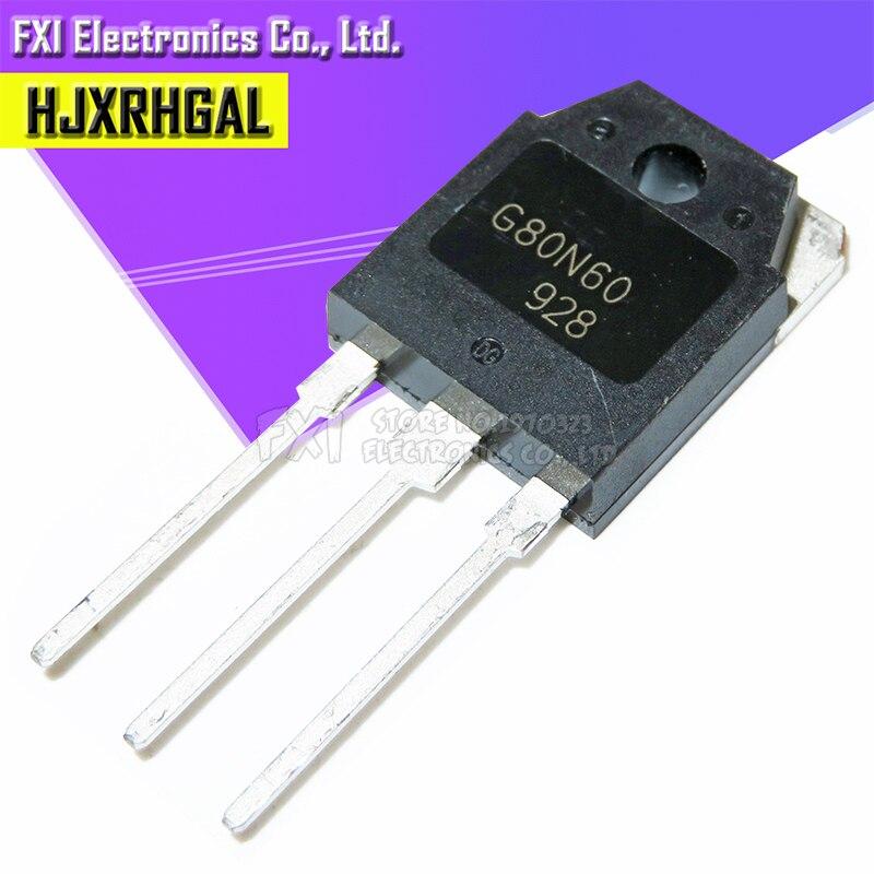 10Pcs G80N60UFD SGH80N60UFD TO-3P SGH80N60 TO-247 80N60