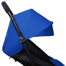 Baby Stroller Accessories for Yoya Yoyo Babyzen Sun Shade Cover +Seat Infant Pram Cushion Pad Sunshade Canopy Buggies for Babies