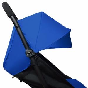 Image 1 - Baby Stroller Accessories for Yoya Yoyo Babyzen Sun Shade Cover +Seat Infant Pram Cushion Pad Sunshade Canopy Buggies for Babies