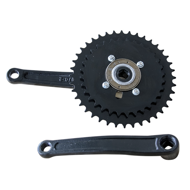 40/32T 170MM Bicycle Crank Set Tooth Plate Bike Crank Set MTB Bicycle Crankset Sprocket|Bicycle Pedal| |  - title=