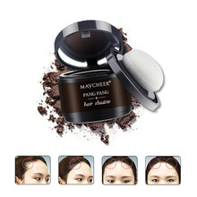 Hairline Powder 4 Color Hair Fluffy Powder Instantly Black Root Cover Up Natural Instant Hair Line Shadow Powder Hair Concealer