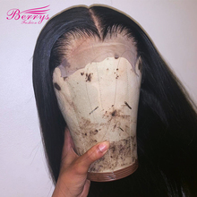 Wig Virgin-Hair Lace-Front Brazilian Straight 5x5 150-%