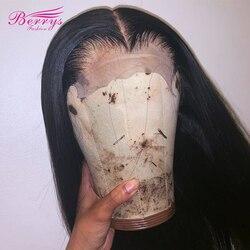 Парики на сетке HD 5x5, прямые фронтальные парики из человеческих волос, 180% натуральные волосы, парик на сетке, бразильский парик из человеческ...