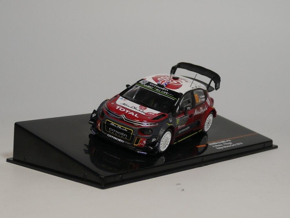 Ixo 1:43 Citroen C3 WRC #10 K,Meeke P.Nagle Rallye Monte-Carlo 2018 RAM662 Diecast Model Car
