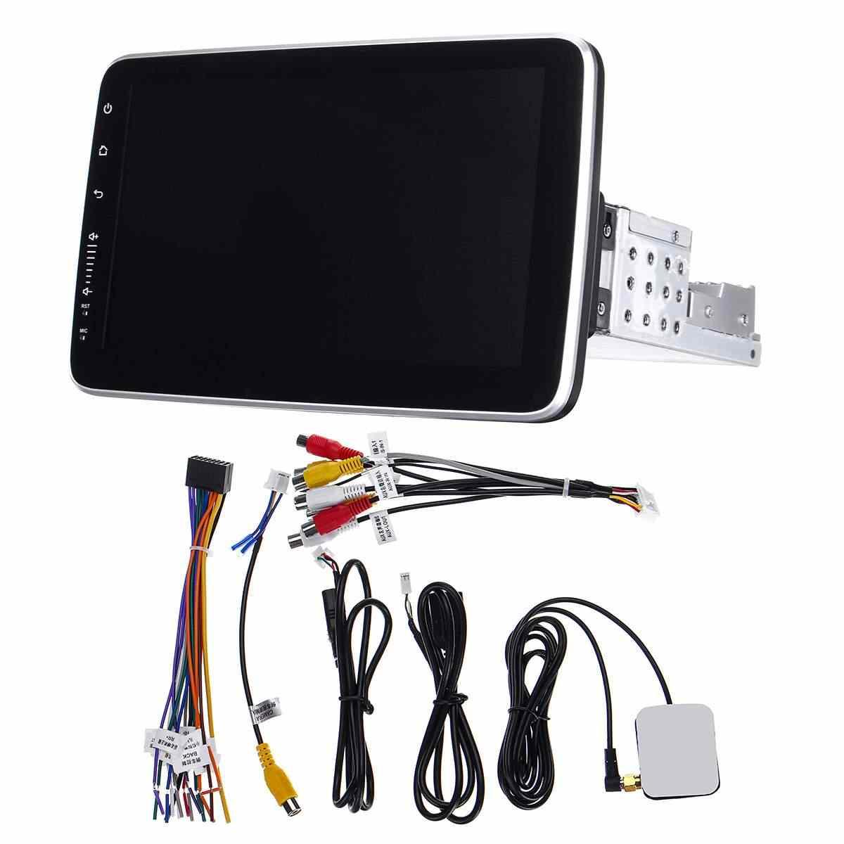 9/10 インチ車のマルチメディアプレーヤー 8 コア 16/32 グラム android 8.0/8.1 と 360 度回転画面の Gps Wifi ラジオプレーヤー