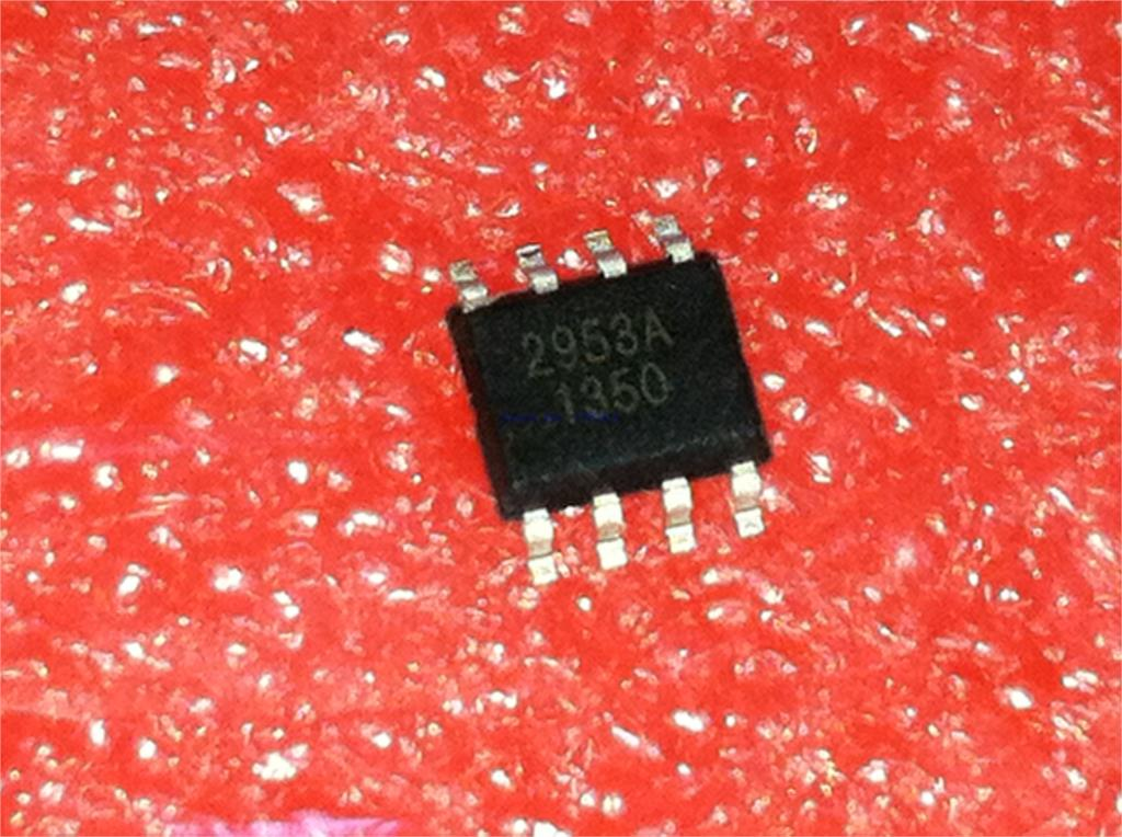 10pcs/lot AP2953AS8PRG AP2953A 2953A SOP-8 In Stock