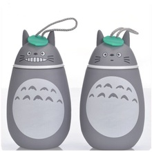 цена на Cute Thermoses 280ML Totoro Thermos Cup Stainless Steel Thermal Insulation Drinking Water Bottle Vacuum Flask Belly Cup