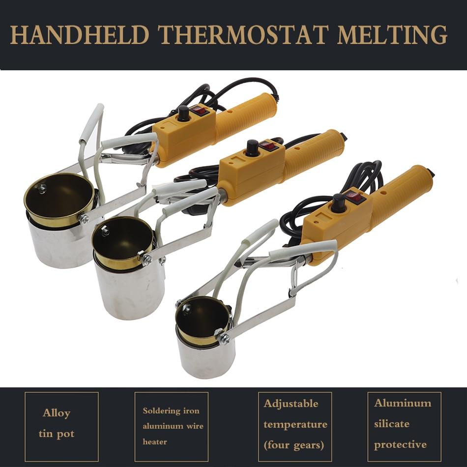 fours-de-fonte-en-metal-de-la-temperature-250w-380-w-petit-four-de-fonte