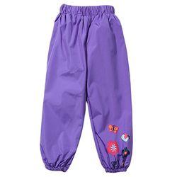 Водонепроницаемые брюки для девочек, модные детские брюки карамельных цветов, брюки для девочек, весна-осень 2020