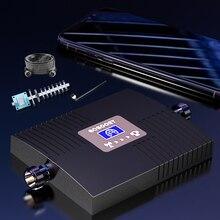 Усилитель сотового сигнала GOBOOST, репитер GSM 800 900 1800 2100 2600 Усилитель GSM 2G 3G 4G усилитель сигнала 850 LTE 4G LTE 800 2600 МГц сотовый усилитель B20 b7 ретрансл...