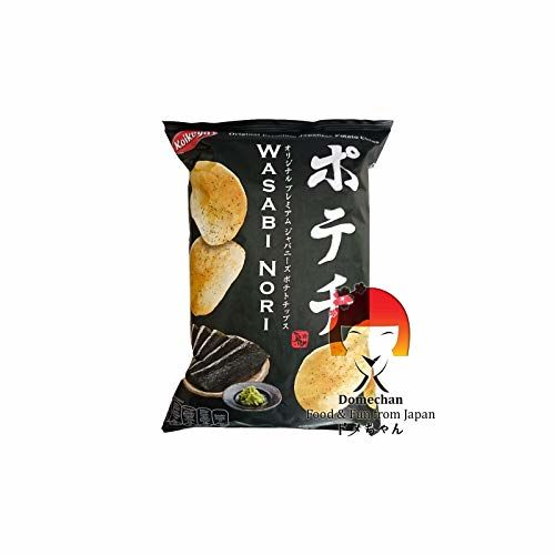 Koikeya Potechi Japanese Potato Chips - Wasabi Nori 100g