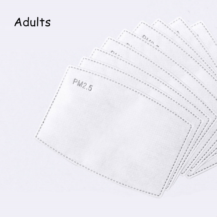 Adult 10 Pcs Filters