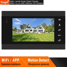 Door-Intercom Monitor Smart-Phone Homefong Wireless Control TUYA Wifi 7inch APP Real-Time