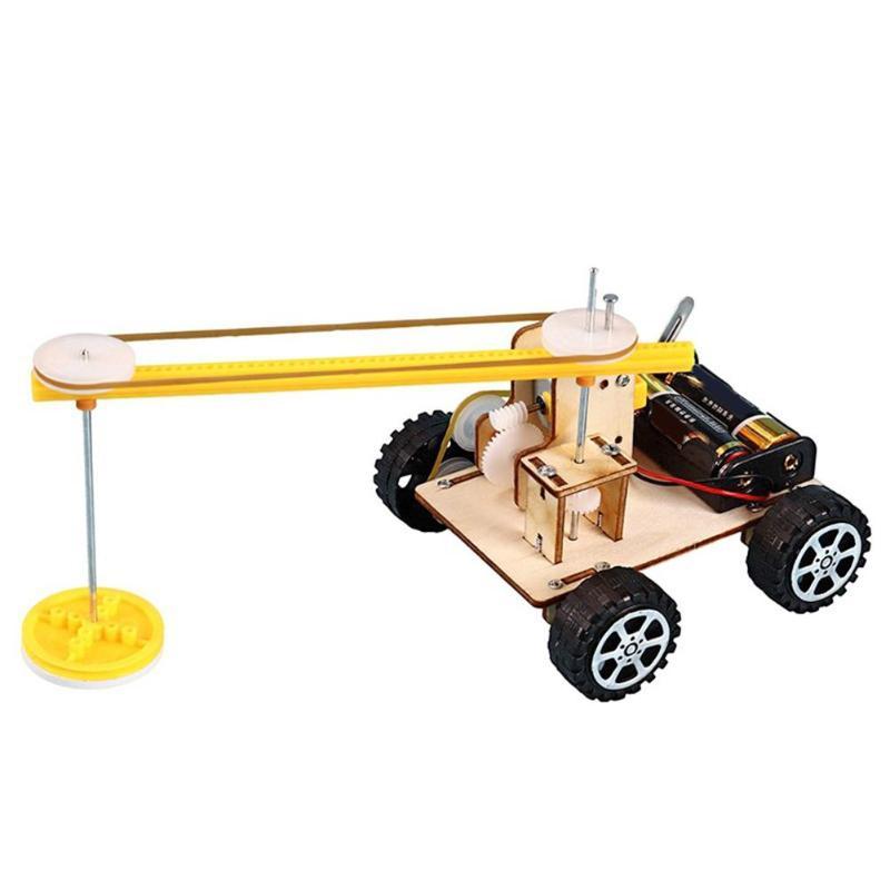 Added Interest Kids DIY Smart Sweeper Robot Toys Stimulate Visual Development Educational Science Teaching Aid Assemble Kit