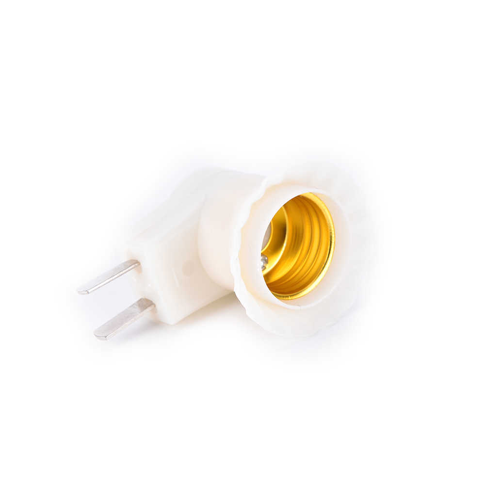 1pc E27 Plug Type Lamp Houder Schroef Mond Lamp Cap 220V Socket Lamp Socket