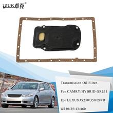 ZUK высокое качество трансмиссионный масляный фильтр для LEXUS IS250/350/2# D GS30/35/43/460 для Toyota CAMRY CROWN OEM: 35330-30090