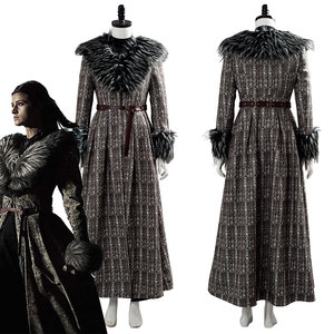Witcher Yennefer Cosplay Costume Adult Girl Female Fancy Dress Suit Halloween Carnival Costumes(China)