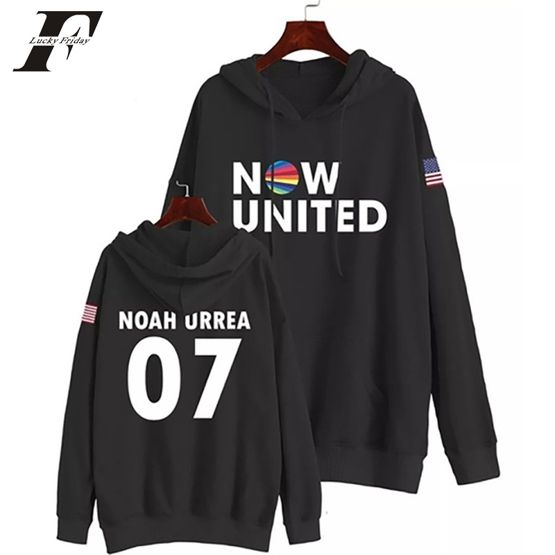 Now United Sabina Hidalgo 03 Hoodie Sweatshirts Trui Kpop Newtracksuit Streetwear Print Casual Mannen Vrouwen Printed Coat Tops 16