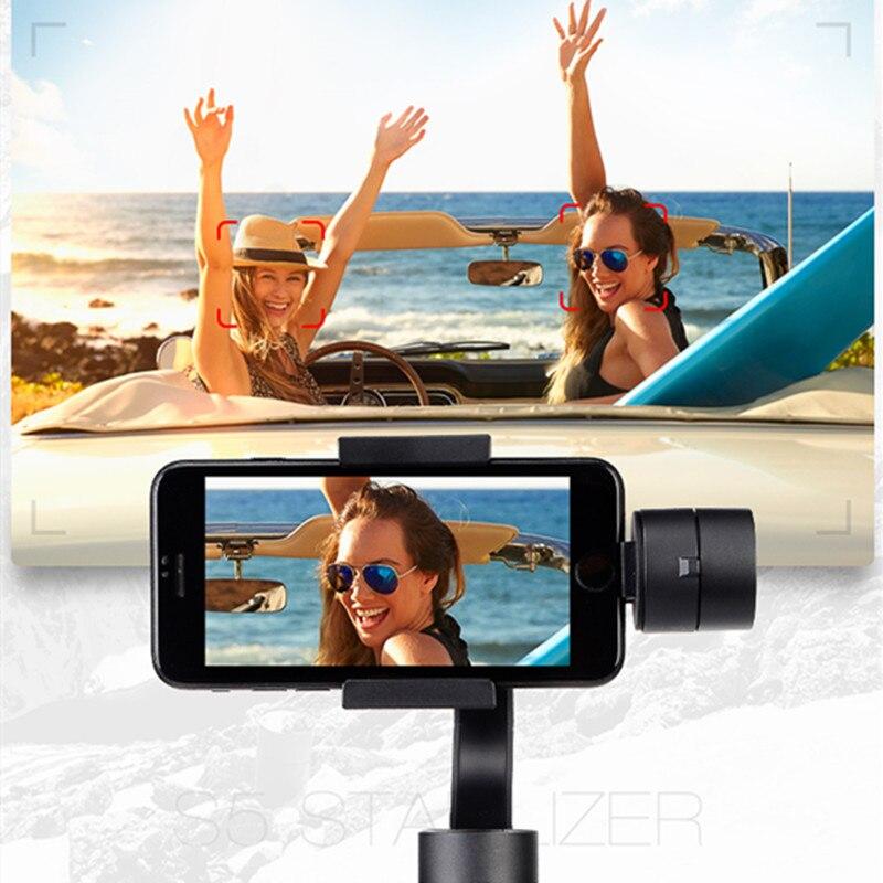 Estabilizador de cardán JABS estabilizador portátil de mano Suave 4 3 ejes H con enfoque para Smartphone y Cámara de Acción de vídeo grabación - 6