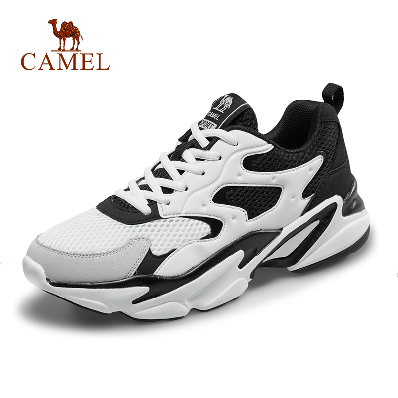 CAMEL Men Running Shoes Breathable Lightweight Comfortable Sneakers Outdoor Jogging Sports Shoes Мужские и женские кроссовки