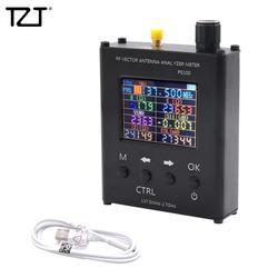 Verificador uv do medidor de swr do analisador da antena do rf de tzt n1201sa 137.5 mhz-2.7 ghz com escudo ps100 da liga de alumínio