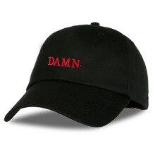 Unisex Spring summer DAMN Hats Embroidered Earth Dad Hat Hip Hop cap Kendrick lamar Rapper Snapback hats Baseball Cap wholesale