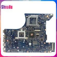 Y480 LA-8001P материнская плата для ноутбука, протестированная оригинальная материнская плата для Lenovo Y480 QIWY3 LA-8001P GT635 материнская плата DDR3 HM76 Intel ...