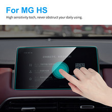 Protector de pantalla de GPS para coche, película protectora de pantalla de TPU para MG HS Interior 2018 2019, GPS para coche de navegación, accesorios para automóviles