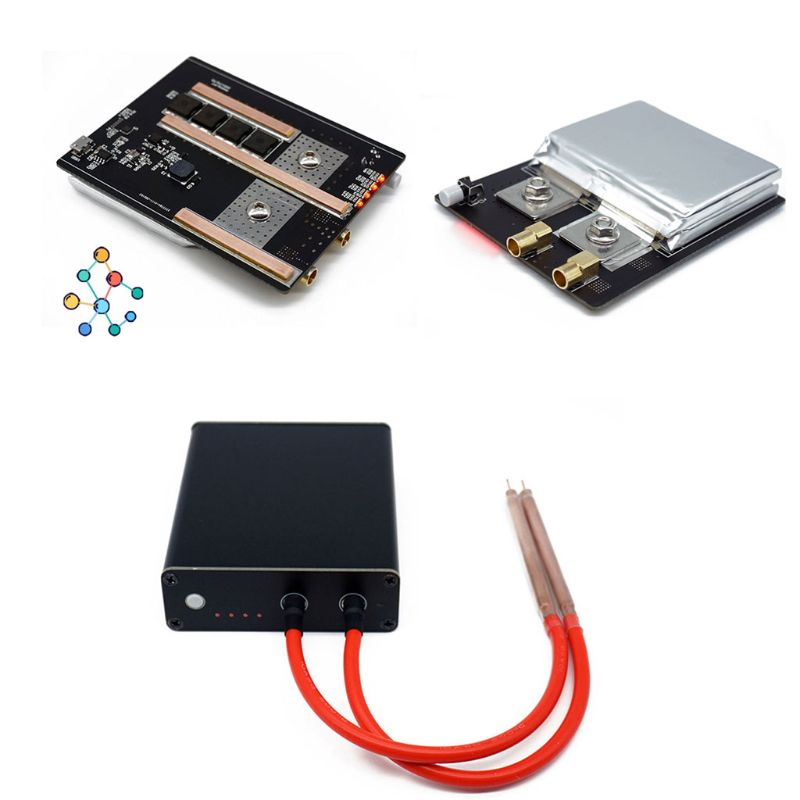 1Set Mini Spot Welder 18650 Lithium Battery Nickel Strip Diy Spot Welding Machine Kit USB Charging Cable Welding Pen