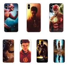 Superheroes Flash Barry Allen Tv Series สำหรับ LG K50 Q6 Q7 Q8 Q60 X Power 2 3 nexus 5 5X V10 V20 V30 V40 Q Stylus(China)