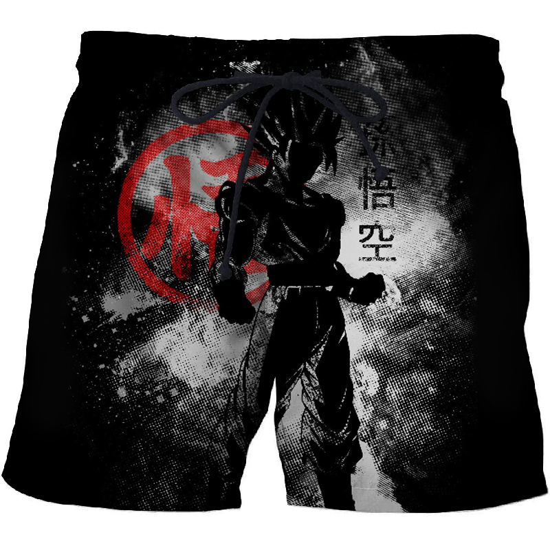 BIANYILONG 2019 Hot Dragon Ball 3D Printed Summer Beach Shorts Men Casual Board Shorts Plage Quick Dry Shorts Swimwear DropShip
